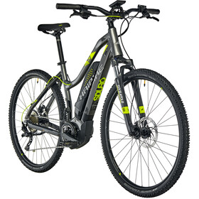 HAIBIKE SDURO Cross 4.0 Femme, anthracite/black/lime